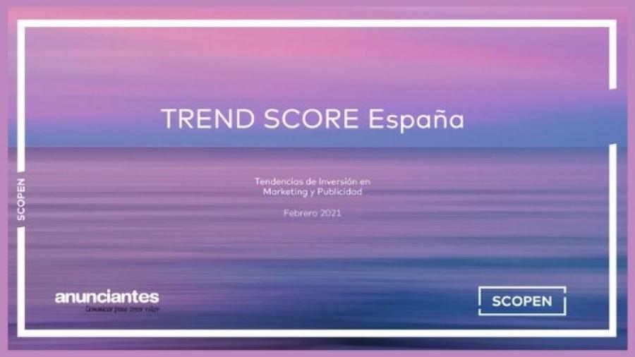 TREND SCORE España febrero 2021