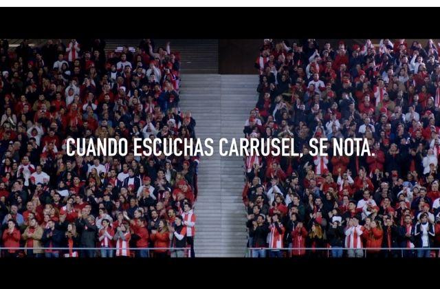 campaña Cuando escuchas Carrusel, se nota de Sra Rushmore para Carrusel Deportivo