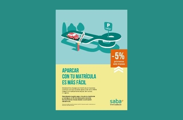 campaña de Ogilvy Barcelona del servicio Saba pago por matrícula