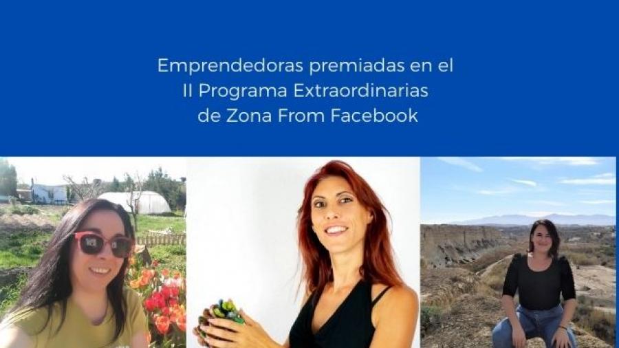 emprendedoras premiadas en el II Programa Extraordinarias