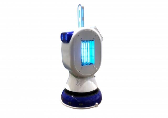 robot sanitario para eventos. Fuente: cedida por Newminds