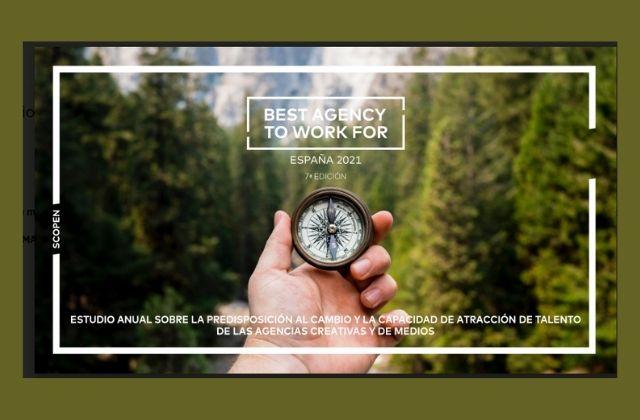Séptima edición del BEST AGENCY TO WORK FOR España 2021