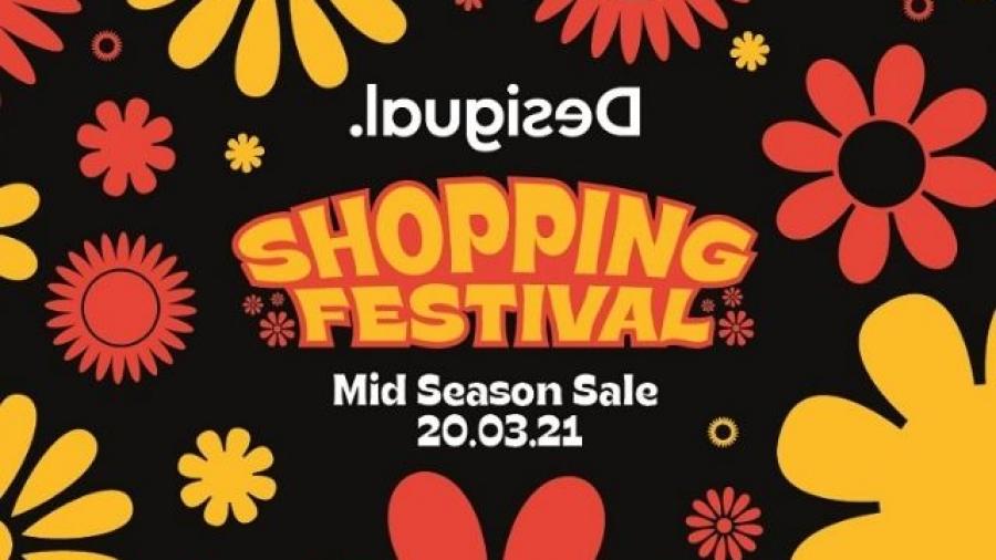 Spring Shopping Festival de Desigual, evento online