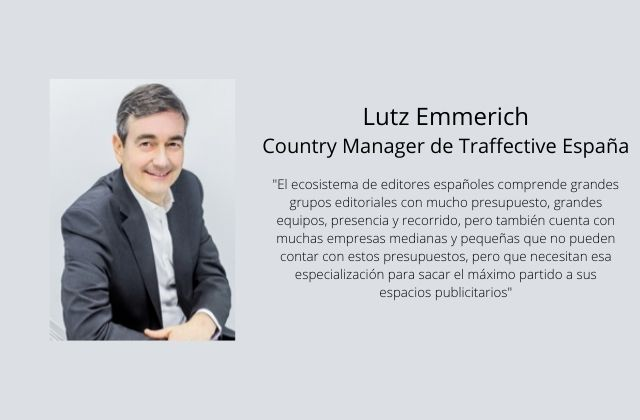 Lutz Emmerich, Country Manager de Traffective España