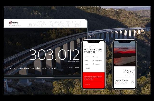 Redbility diseña el nuevo ecosistema web de ACCIONA