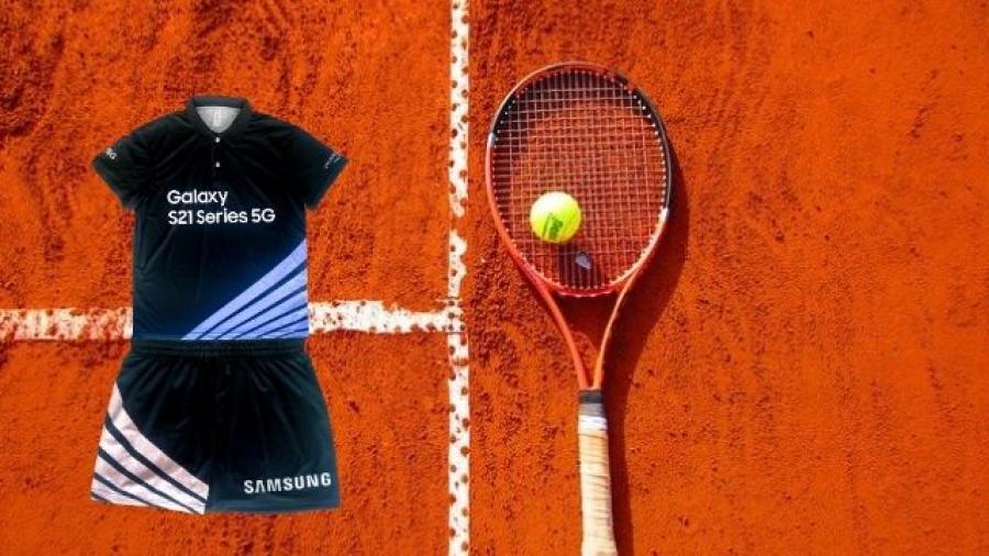 Samsung diseña ropa de recogepelotas del Mutua Madrid Open Tenis 2021