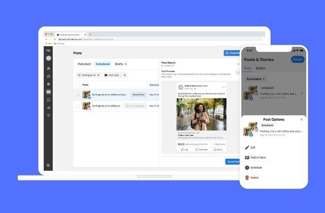 actualizaciones en las herramientas de Facebook Business Suite