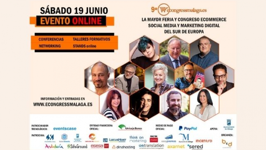 eCongress Málaga 2021, ecommerce, social media y marketing digital