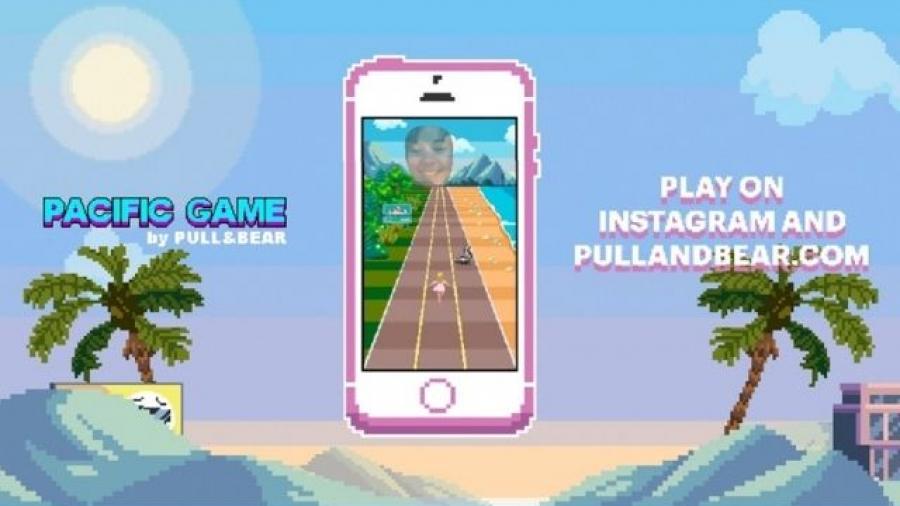 juego Pacific Game de Pull&Bear