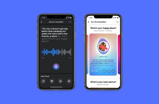 nuevas herramientas y formatos de audio en Facebook