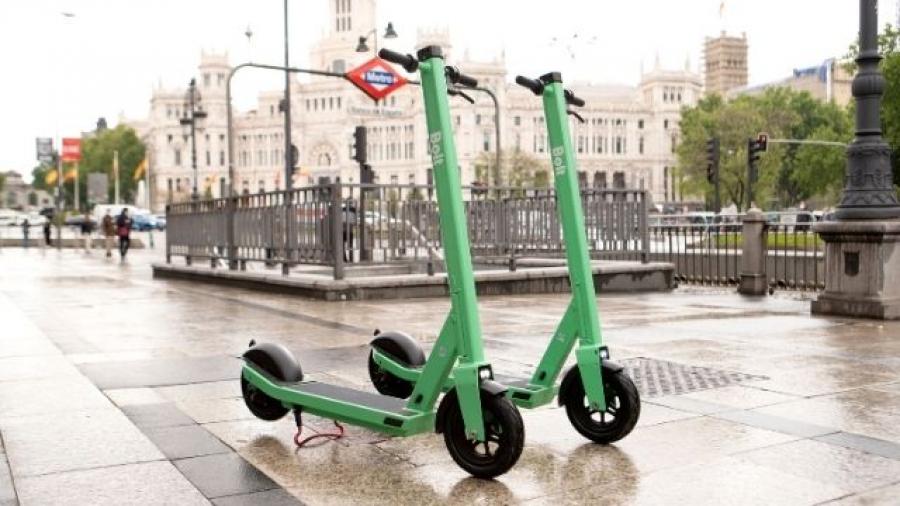 servicio de patinetes eléctricos Bolt en Madrid