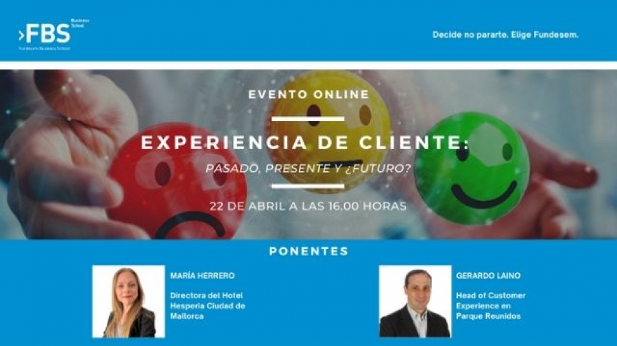 webinar sobre CX con María Herrero (Hesperia) y Gerardo Laino (Parques Reunidos)