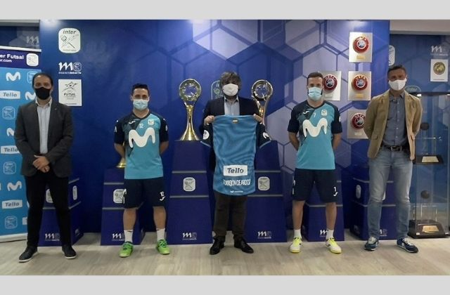 Grupo Tello Alimentación patrocina Movistar Inter Futsal