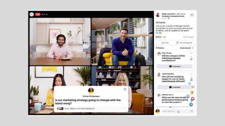 Workplace (Facebook) alcanza 7 millones de suscriptores pagos