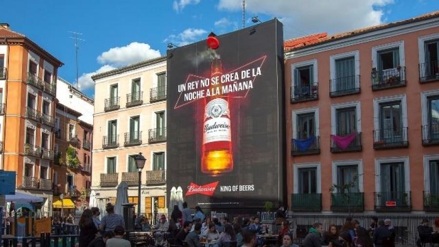campaña de Budweiser Un rey no se crea de la noche a la mañana
