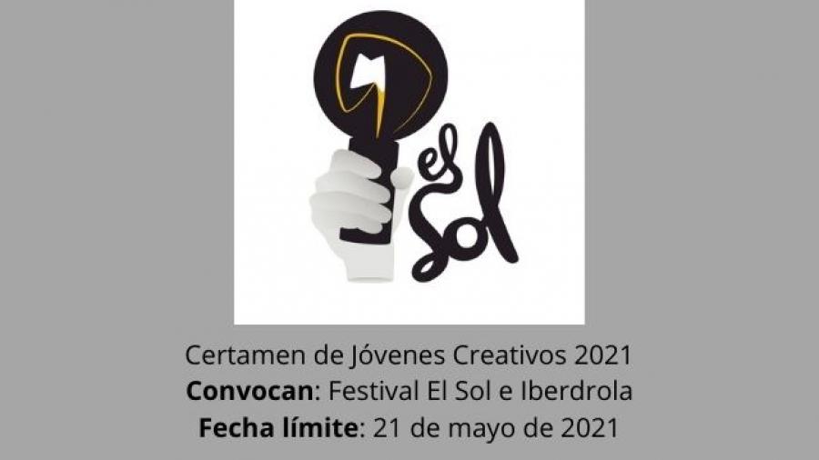 convocatoria del certamen de Jóvenes Creativos 2021