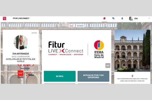 ejemplo de perfil en FITUR LIVEConnect