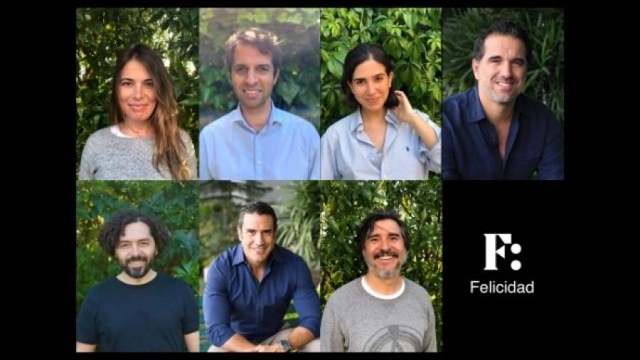equipo de la empresa Felicidad