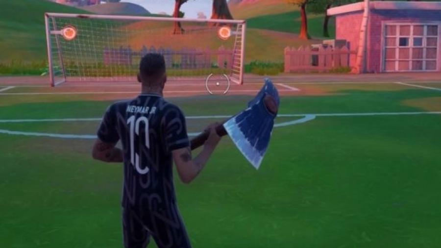 skin de Neymar Jr en Fortnite