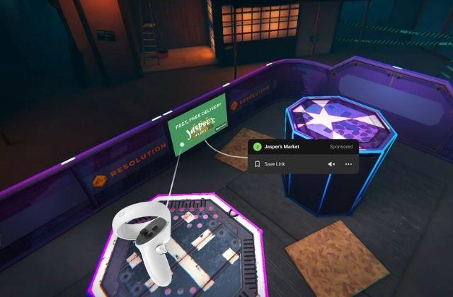 Facebook prueba anuncios en Realidad Virtual en Oculus