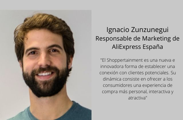 Ignacio Zunzunegui, Responsable de Marketing de AliExpress España