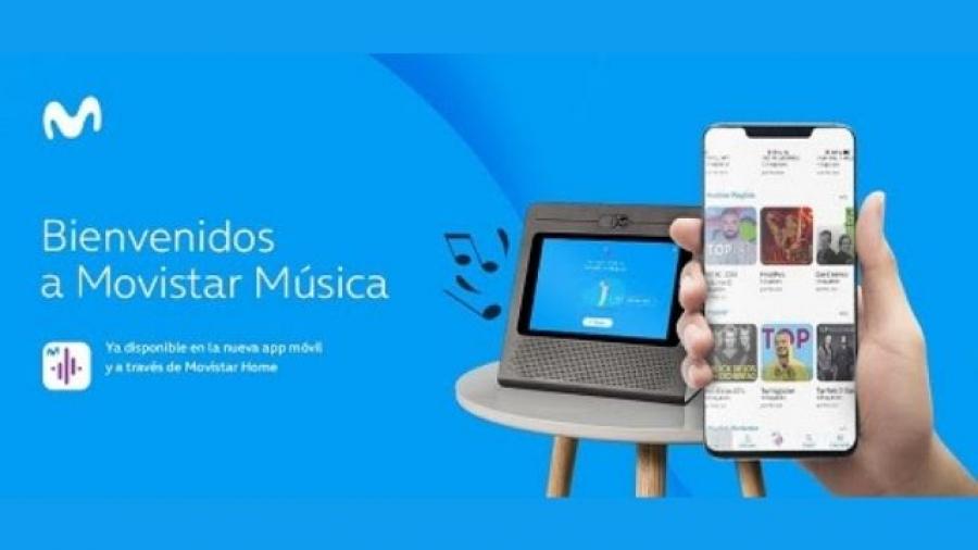 Movistar Música servicio multidispositivo en streaming