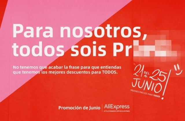 Promoción de Junio 2021 de AliExpress España