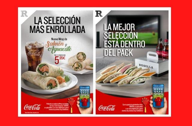 Rodilla y Coca-Cola se unen para animar a España en la Eurocopa 2021