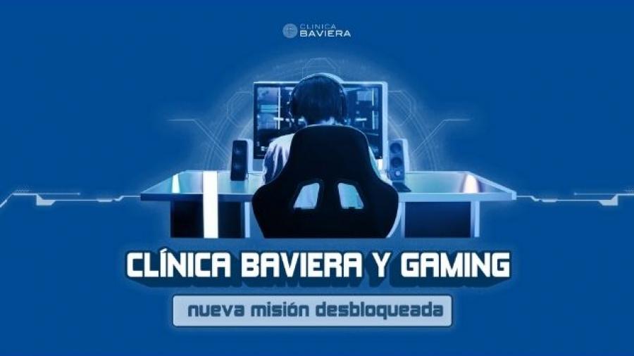 campaña Nueva misión desbloqueada de Clínica Baviera con gamers