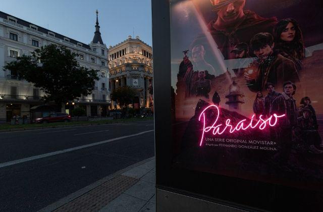 campaña de Havas Media para la serie Paraíso de Movistar+
