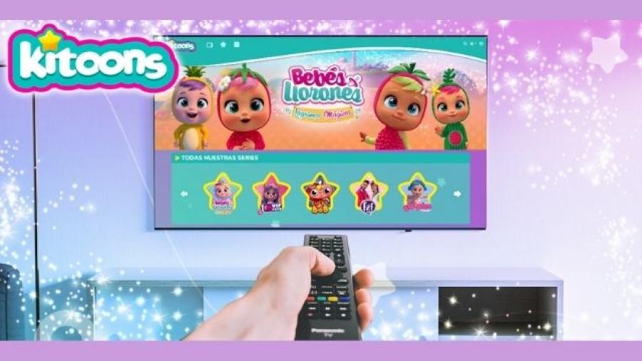 kitoons de IMC Toys, plataforma de streaming bajo demanda
