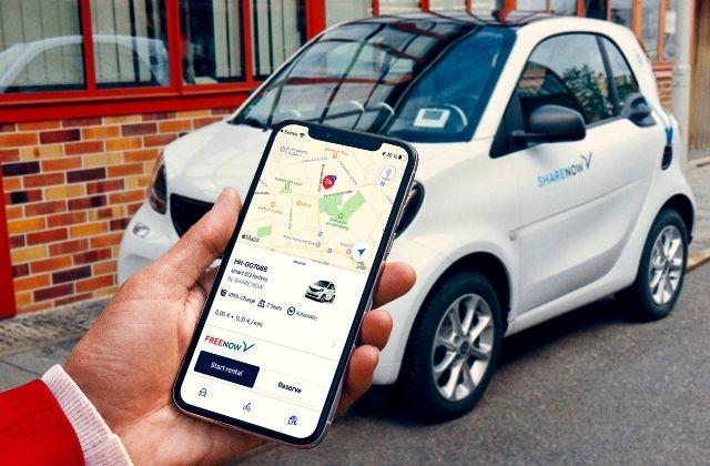 FREE NOW integra en su app los coches de SHARE NOW
