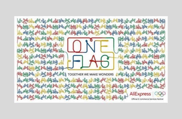 campaña ONE FLAG de AliExpress para los JJOO de Tokio 2020