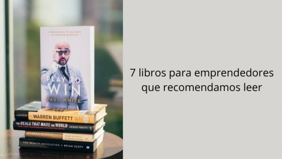 recomendaciones de libros para emprendedores