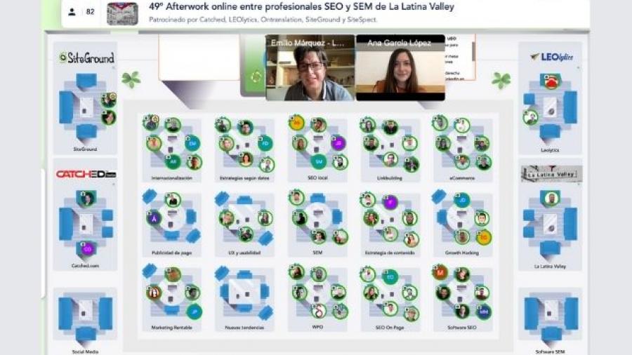49 Afterwork de La Latina Valley entre profesionales de SEO y SEM