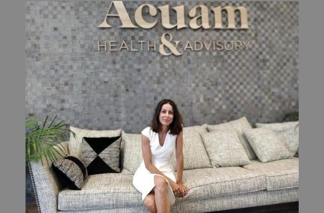 Alejandra Nuño, socióloga y Managing Director en Acuam®HealthCare