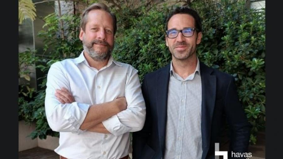 Miguel López-Guzmán y Rodrigo Olivié (Havas Media Madrid)