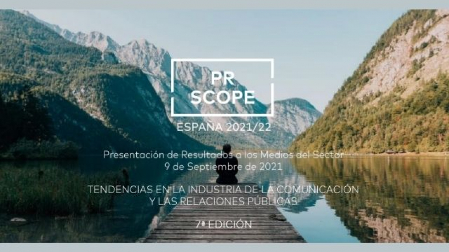 Resultados del estudio PR Scope España 2021-2022