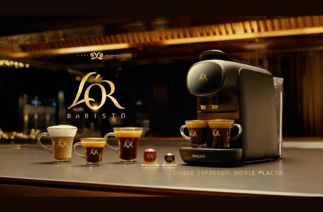 campaña Tu forma de espressión para la nueva cafetera L'OR Barista Sublime