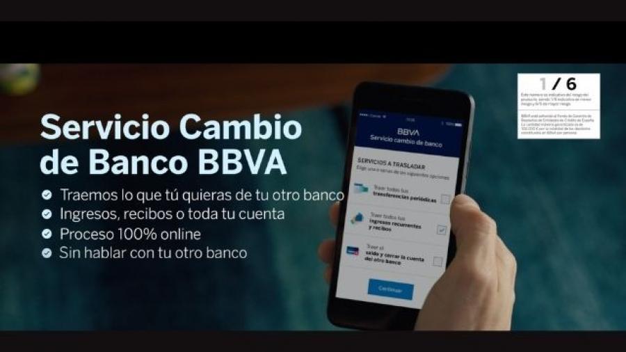 campaña de PS21 Servicio Cambio de Banco del BBVA