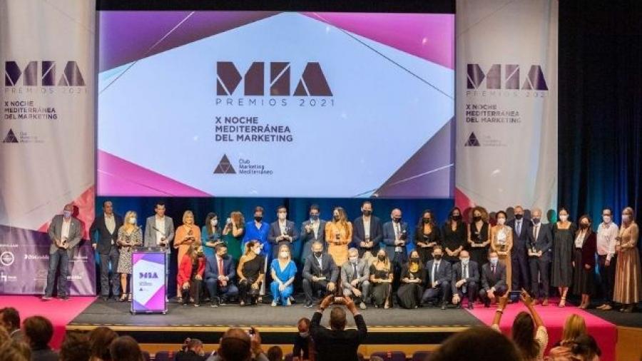 ganadores de los Premios MIA 2021 del Club de Marketing del Mediterráneo