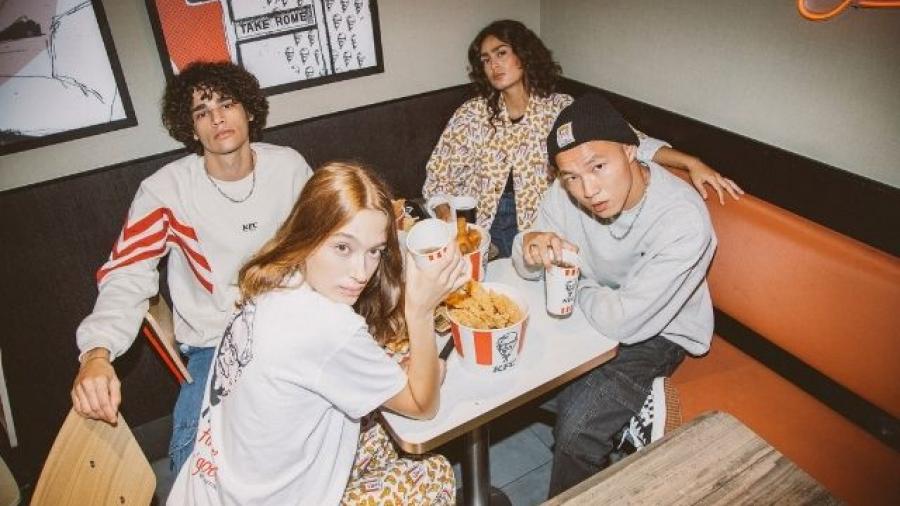 nueva colección de ropa KFC by KAOTICO