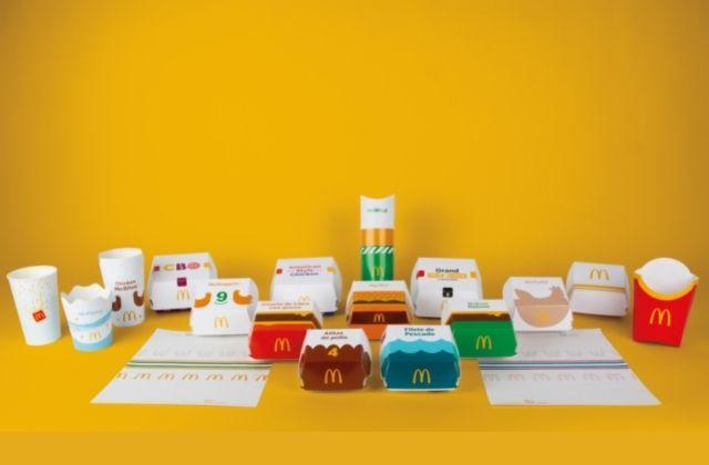 nuevo packaging de McDonald's en España