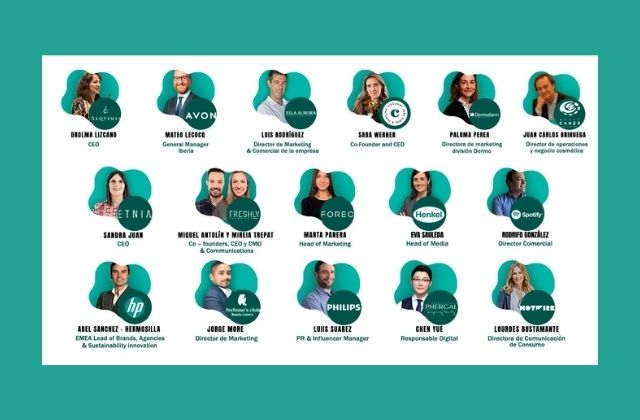 ponentes del Best!N Beauty&Care Marketing Summit