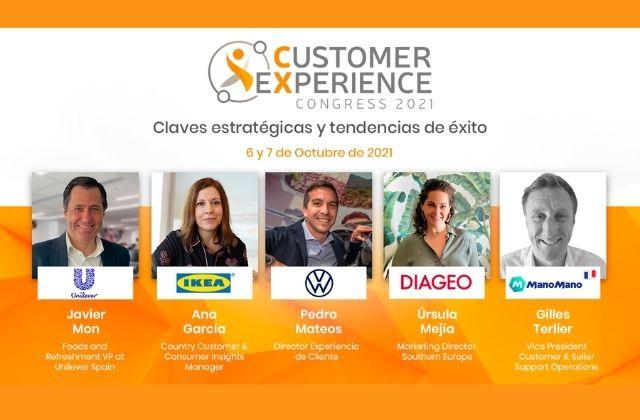 ponentes del Digital CX Congress 2021