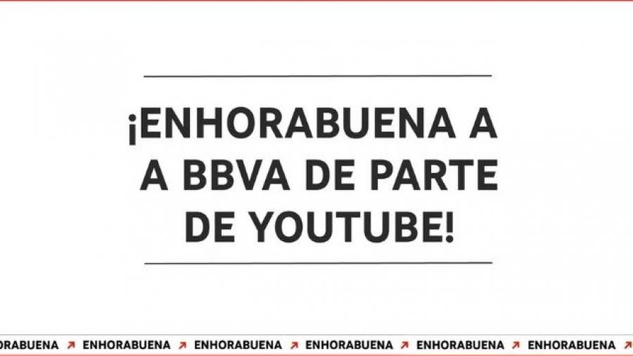 BBVA, Bimba y Lola y #ElGranRetoSolidario, ganan los YouTube Works Awards España 2021