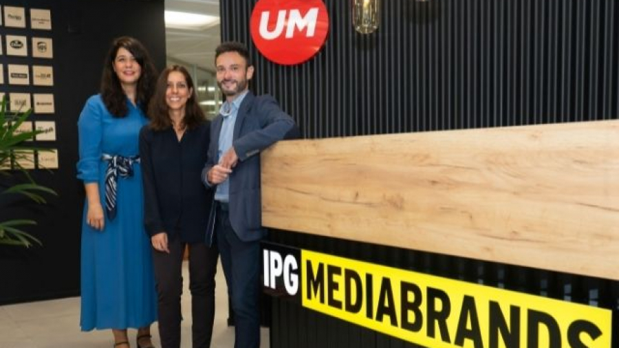 Oriol Arjona, Mapi Merchante y Nuria Montero - IPG Mediabrands Barcelona
