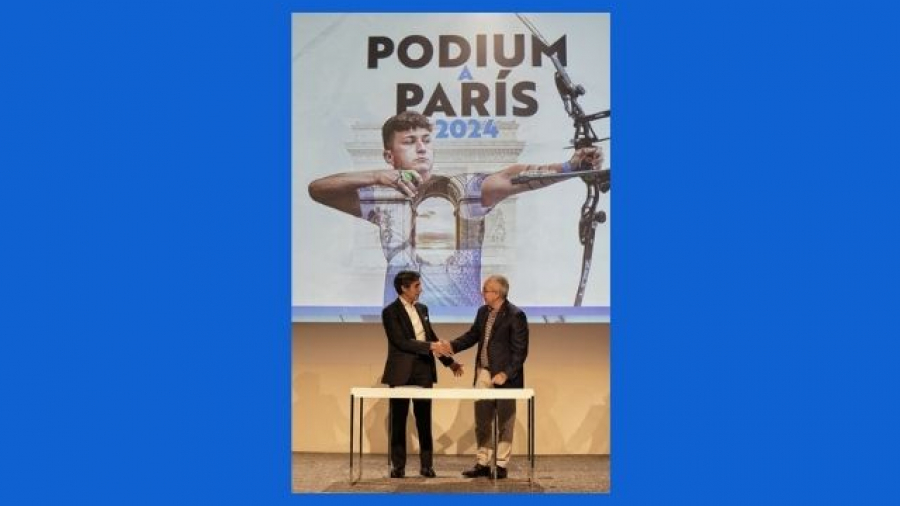 Telefónica y el COE renuevan el programa Podium hasta los JJOO de París 2024