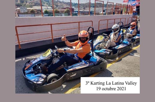 Tercer karting de La Latina Valley presencial en Madrid con expertos en ecommerce