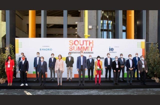 inauguración del South Summit 2021 Innovation Business